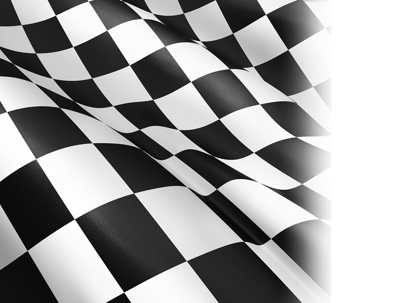 checkered racing